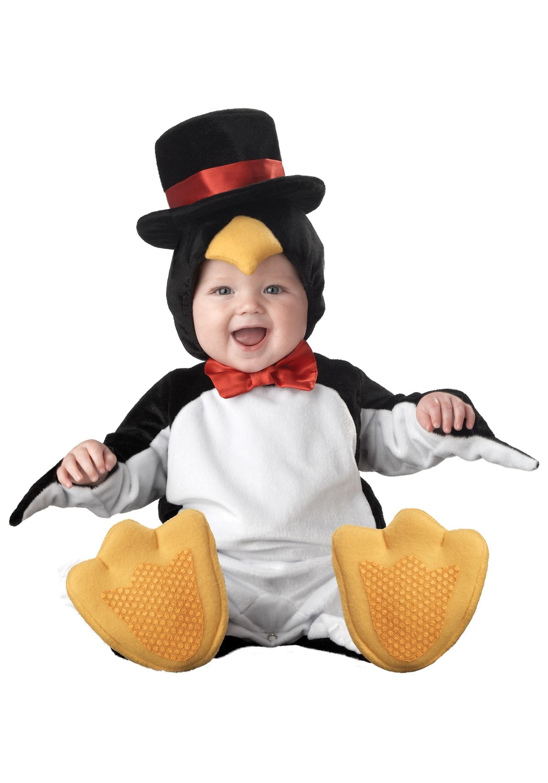 lil penguin infant costume - baby penguin costumes