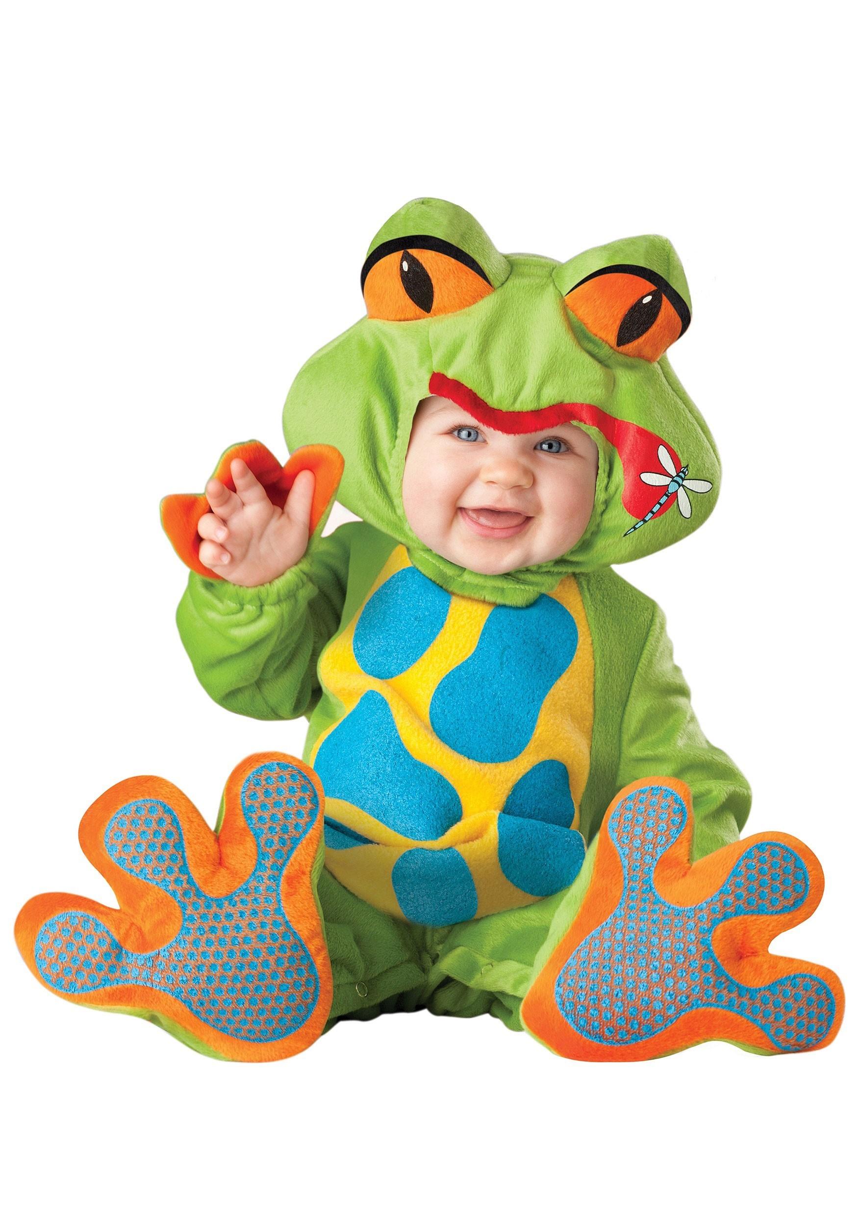 Lil Baby Frog Costume  sc 1 st  Halloween Costume & Lil Baby Frog Costume - Infant Animal Costumes