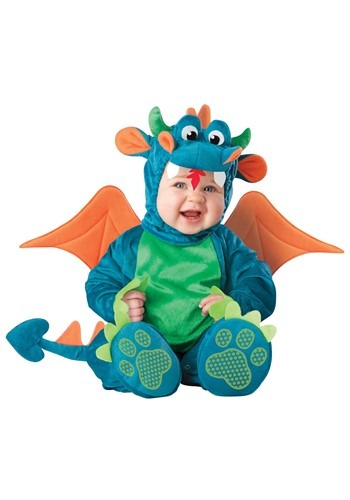 Plush Baby Dragon Costume
