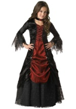 Girls Goth Vampire Costume