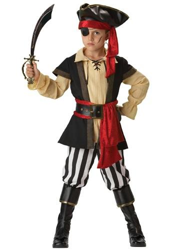 Boys Scoundrel Pirate Costume