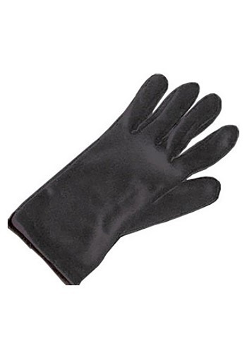 Kids Black Gloves