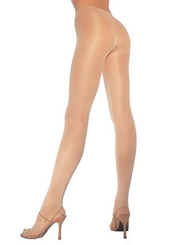 Plus Size Opaque Nude Pantyhose