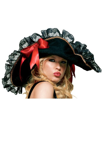 Sexy Lace Pirate Hat