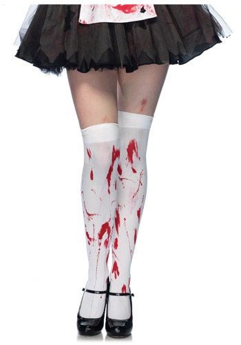 Bloody Thighs Stockings
