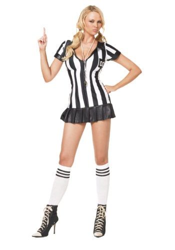 Sexy Womens Referee Costume