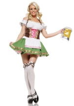 German Barmaid Costume