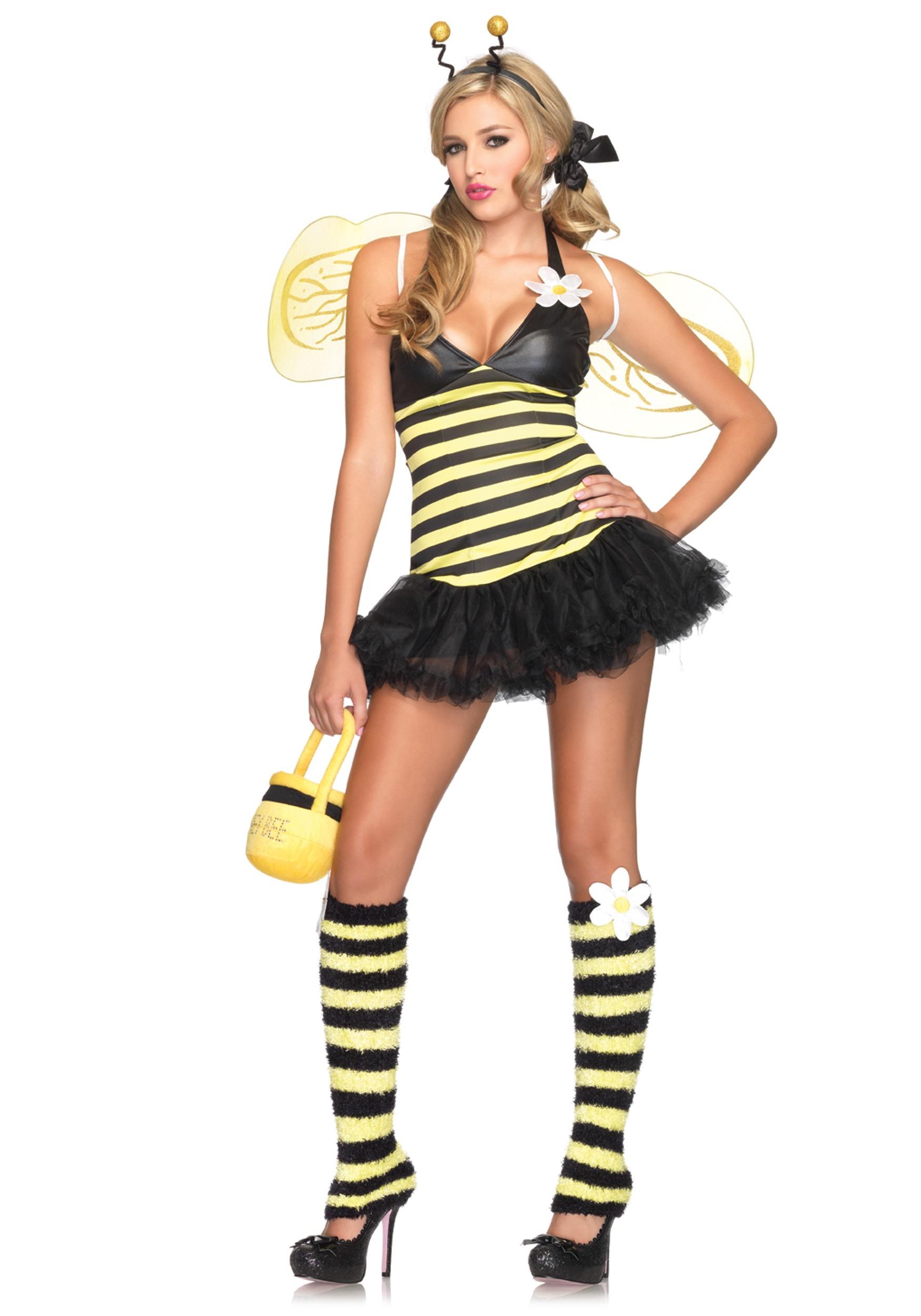 Daisy Bee Ladies Costume  sc 1 st  Halloween Costume & Daisy Bee Ladies Costume - Sexy Bumble Bee Insect Womens Costumes