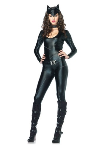 Womens Feline Catsuit Costume