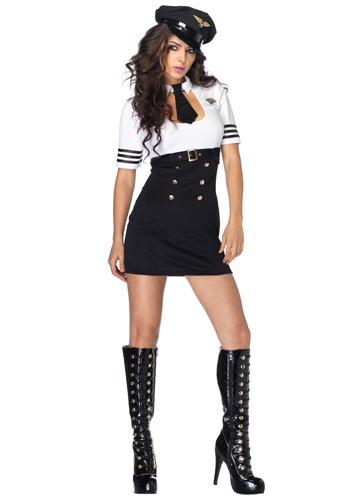 First Class Pilot Uniform Costume