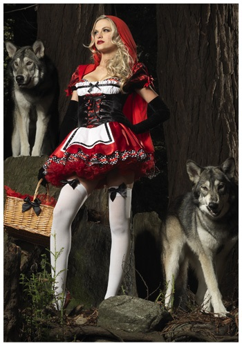 Resplendent Red Riding Hood Costume