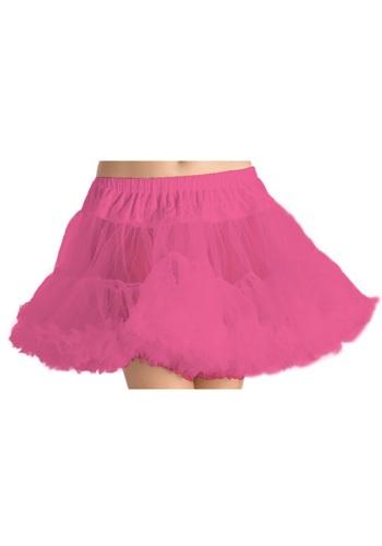 Neon Pink Tulle Underskirt
