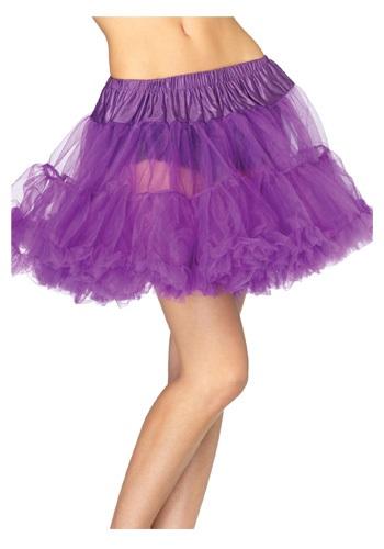 Sexy Purple Tulle Petticoat