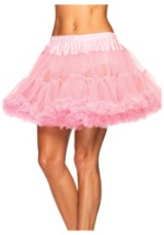 Plus Pink Tiered Tulle Petticoat
