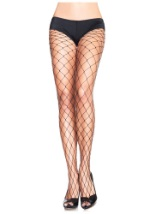 Fence Net Plus Size Stockings