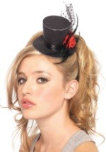 Mini Rose Top Hat