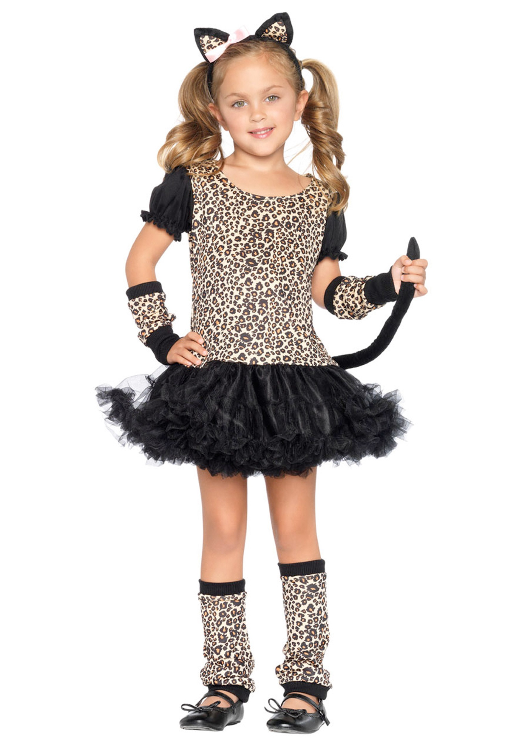 Kids Cat Tutu Costume  sc 1 st  Halloween Costume & Kids Cat Tutu Costume - Girls Cat Costumes