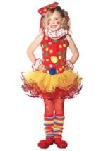 Girls Clown Tutu Costume