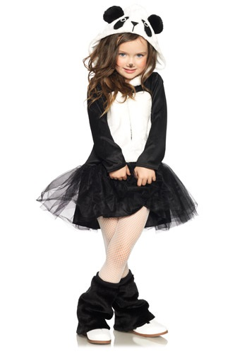 Girls Amanda Panda Costume