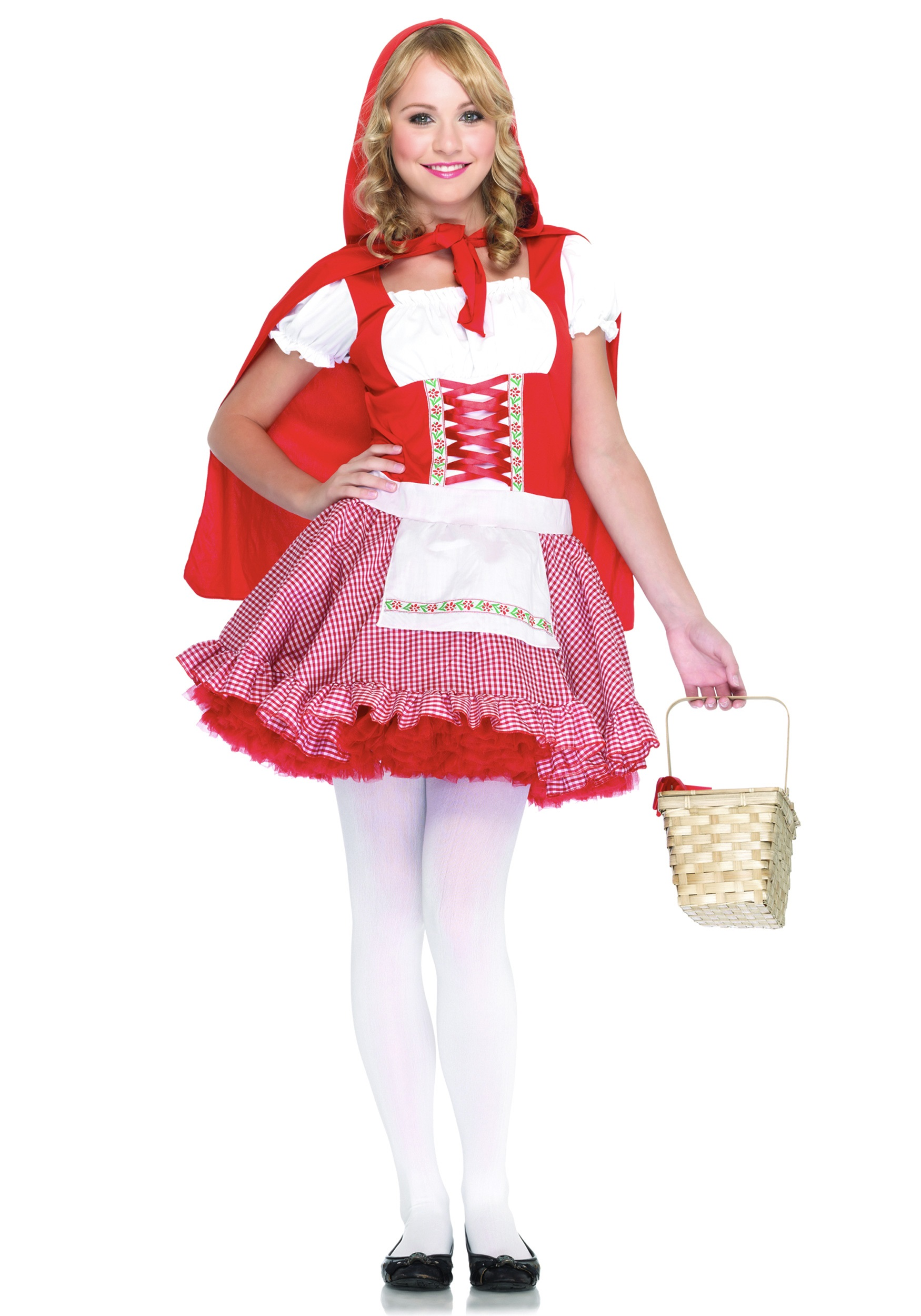 Teen Little Red Riding Hood Costume  sc 1 st  Halloween Costume & Teen Little Red Riding Hood Costume - Costumes for Teens