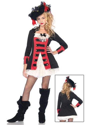 Teen Charming Pirate Dress
