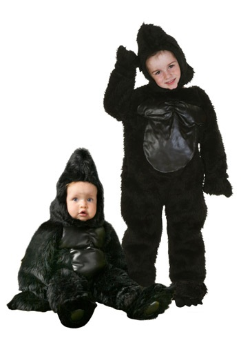 Deluxe Toddler Gorilla Suit