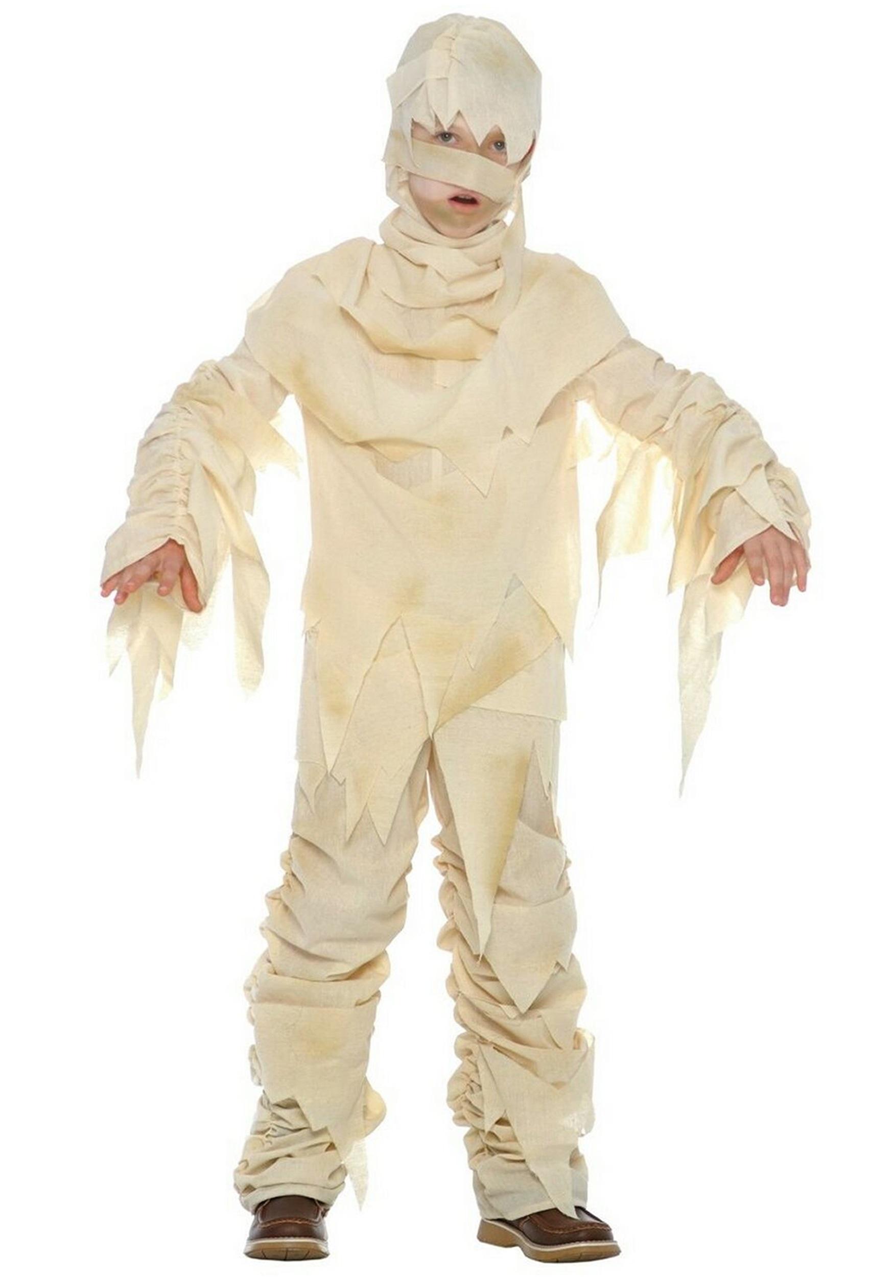 Костюм для хэллоуина для мальчика своими руками
