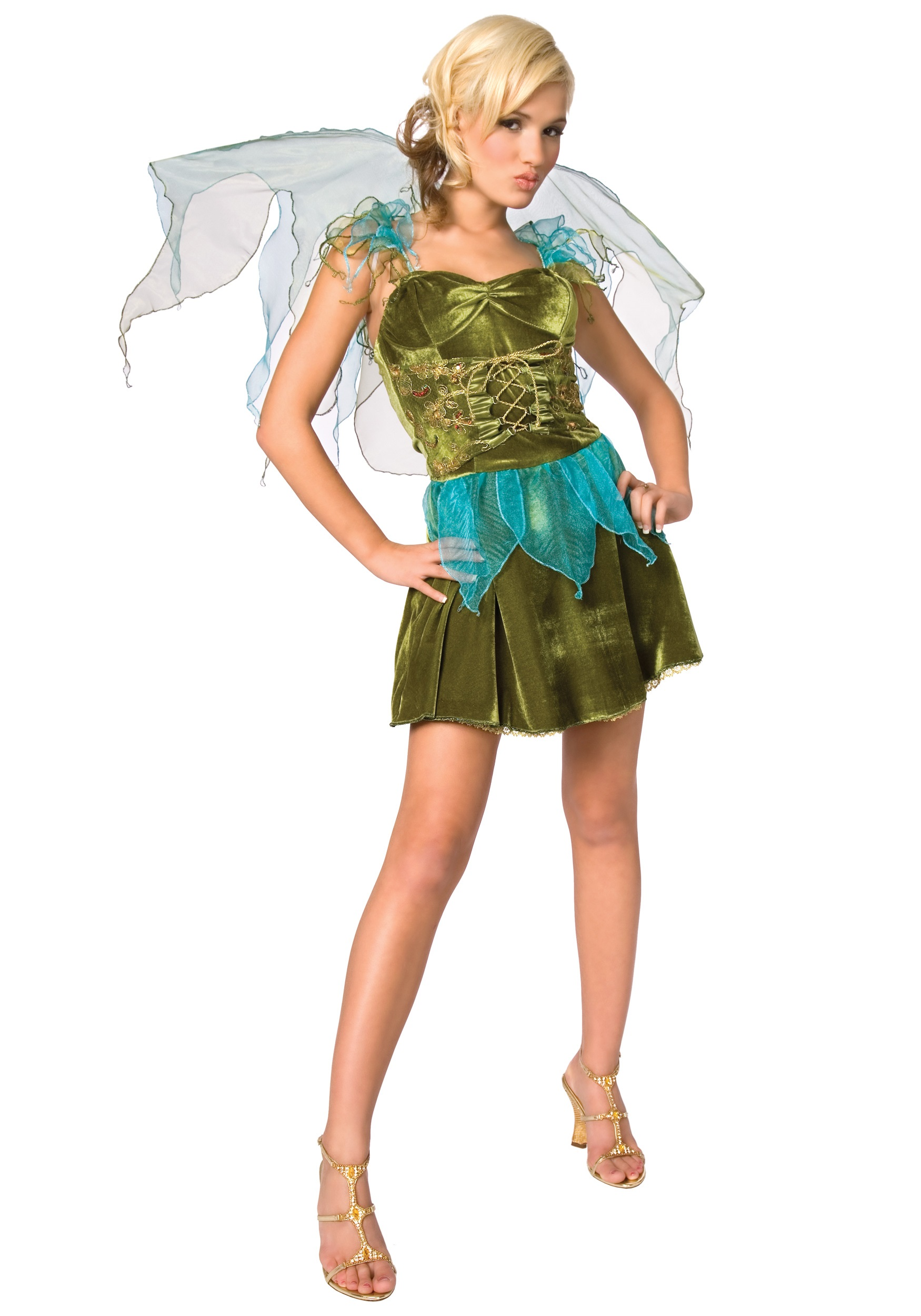 Sexy woodland fairy costume