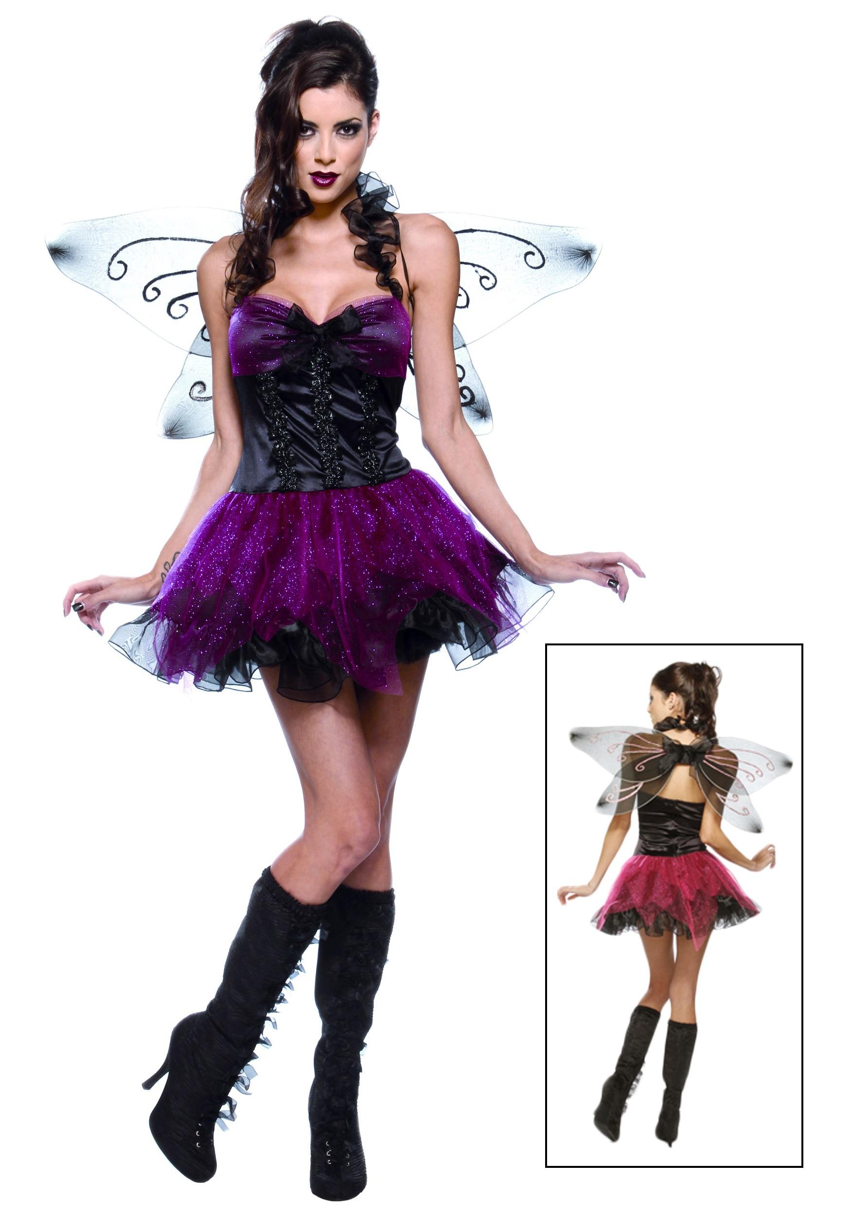 685c2a70835f2 Sexy Dark Fairy Costume - Womens Pixie Halloween Costumes