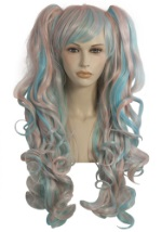 Candy Cupcake Costume Wig