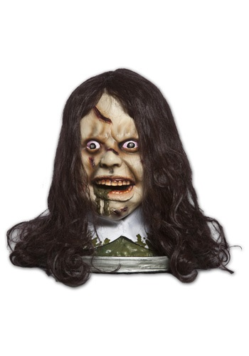 Spinning Exorcist Head Platter