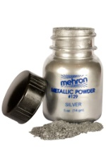 Silver Metal Man Powder Makeup
