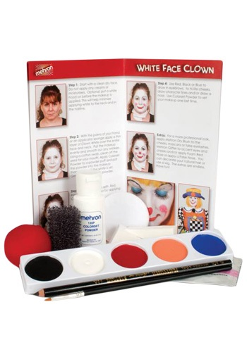 Clown Costume Makeup
