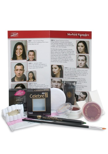 Contemporary Vampire Makeup Kit