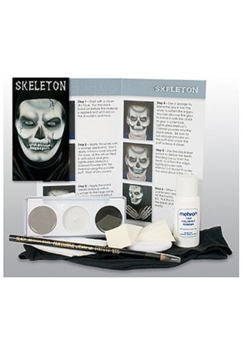 Skeleton Deluxe Makeup Kit