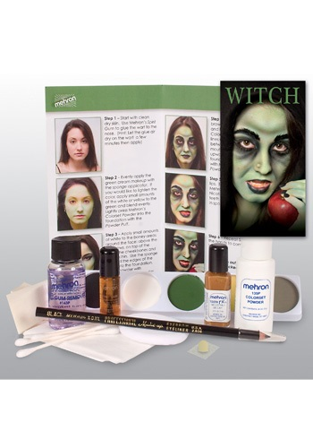 Evil Witch Makeup Kit
