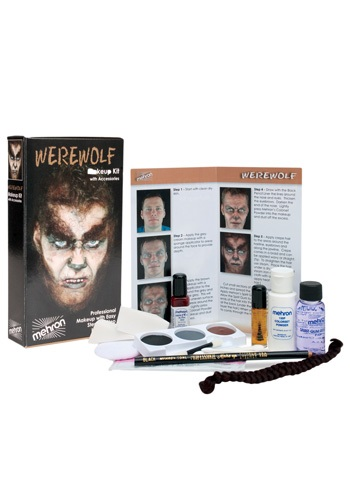 Werewolf Movie Makeup Kit