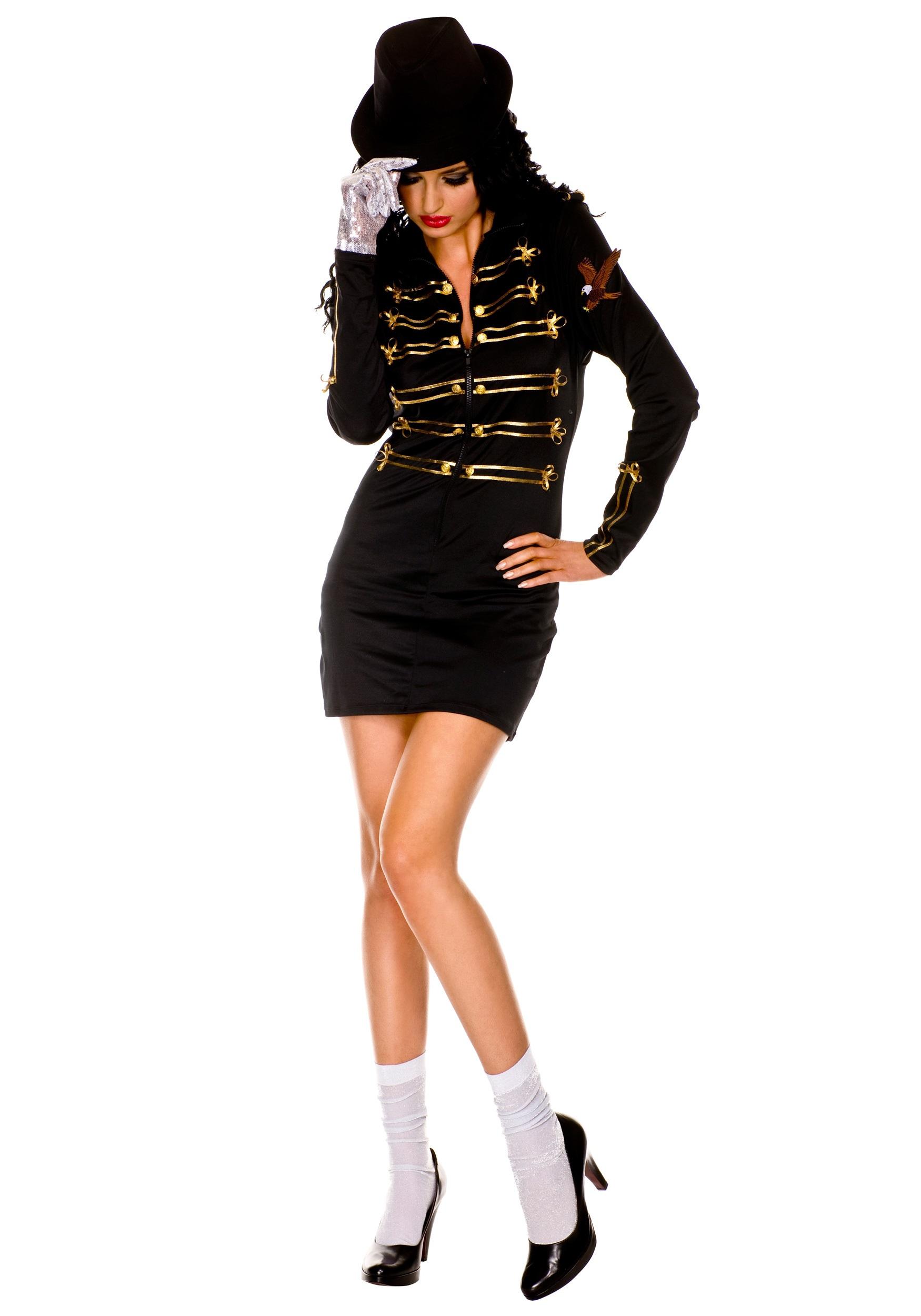 Sexy One Glove Pop Diva Costume  sc 1 st  Halloween Costume & Sexy One Glove Pop Diva Costume - 80s Superstar Costume Ideas
