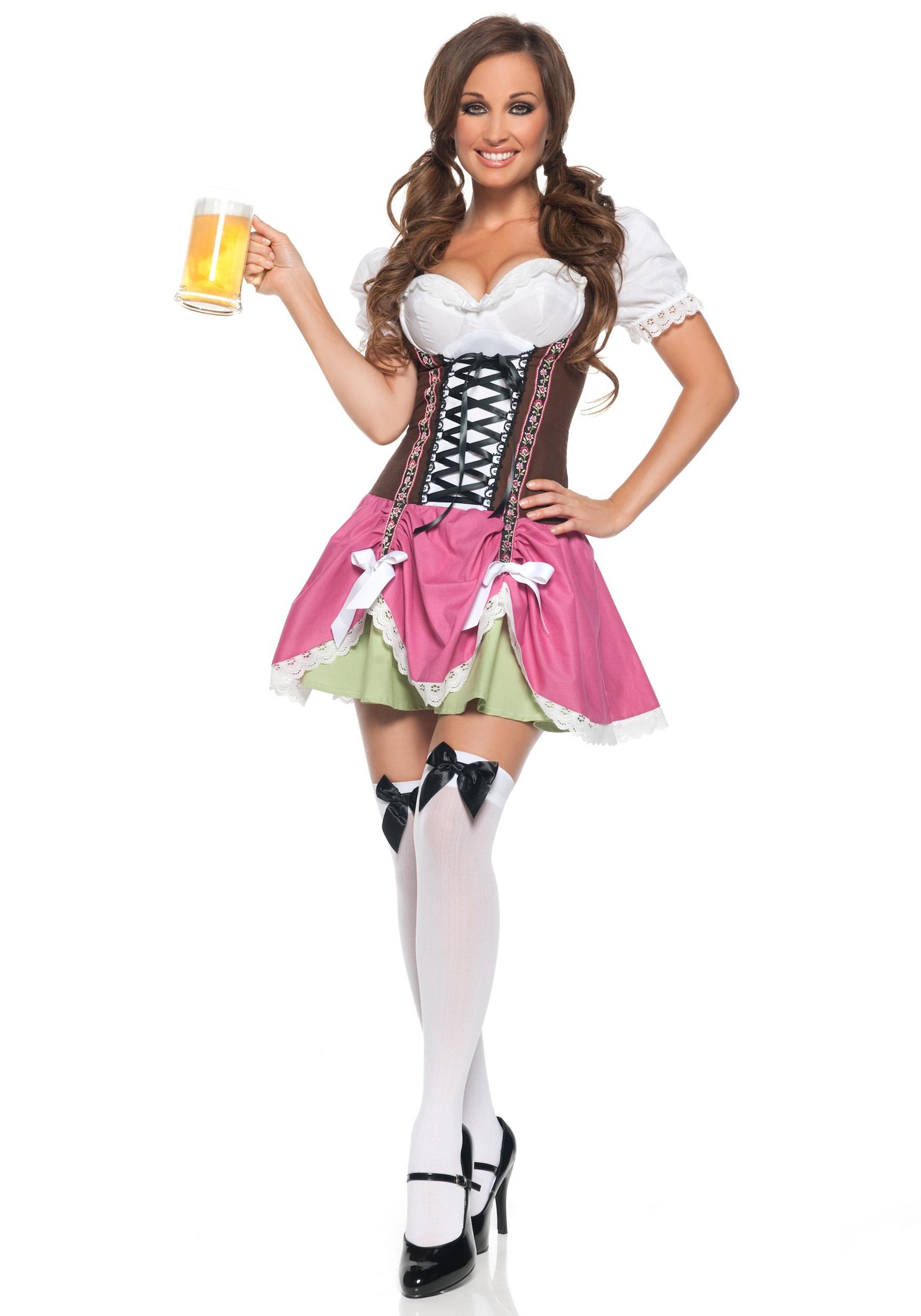 Yodeling Swiss Girl Costume German Beer Costumes