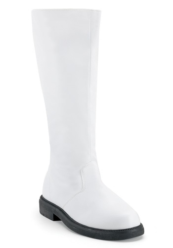 Adult White Clone Trooper Boots