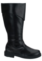 Mens Black Costume Boots