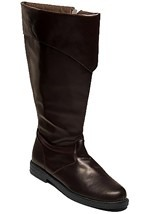 Mens Brown Costume Boots