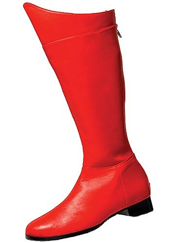 Red Superhero Boots