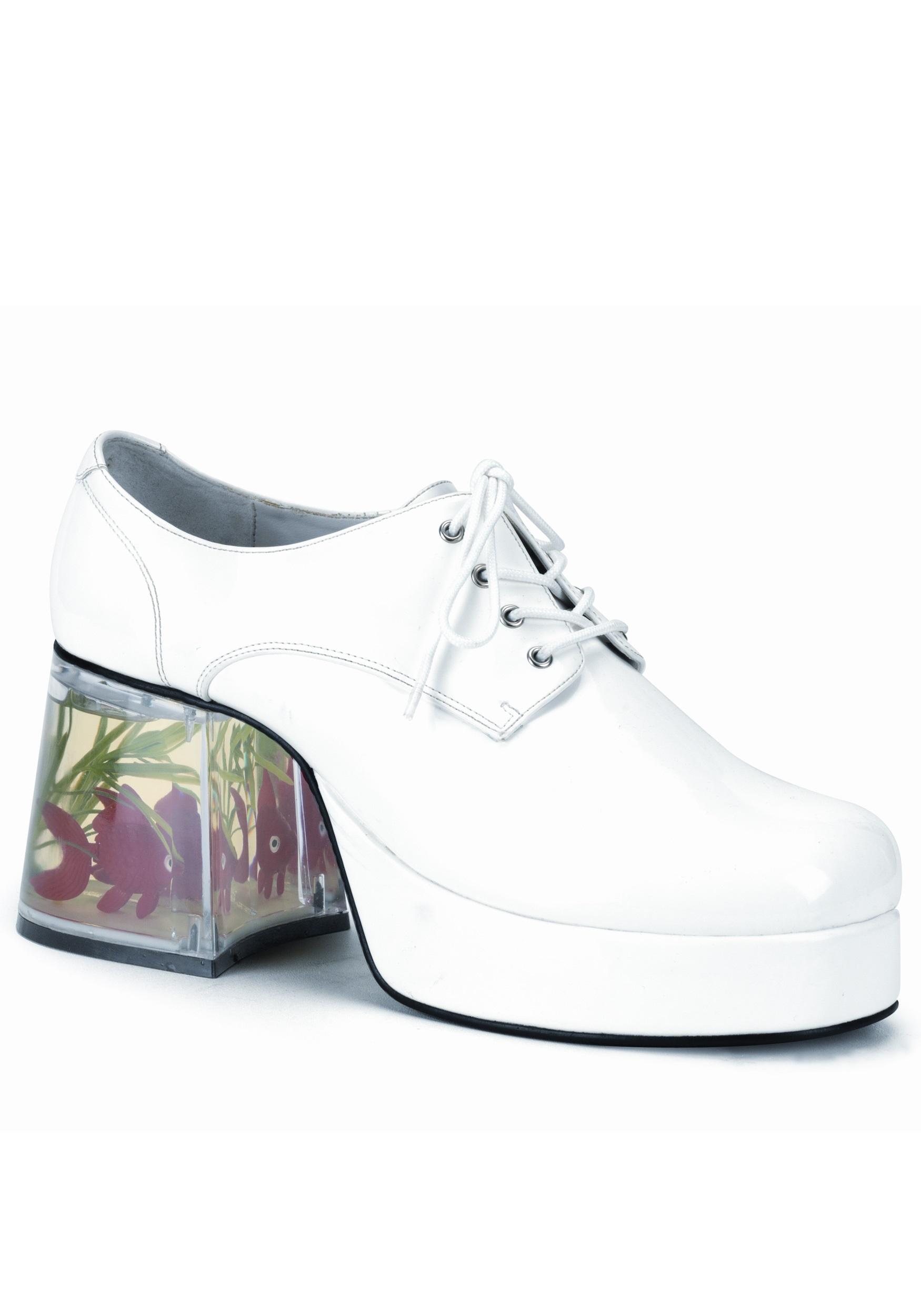 5a7a005ea61a Goldfish Disco Pimp Shoes - Funny Pimp Platform Shoes Accessory