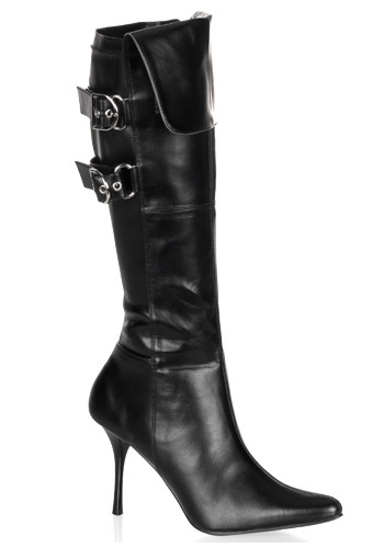 Sexy Black Costume Boots