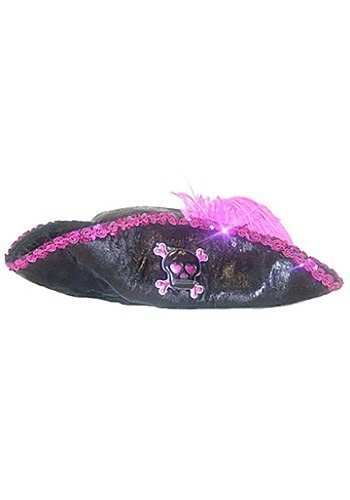 Hot Pink Pirate Girl Hat