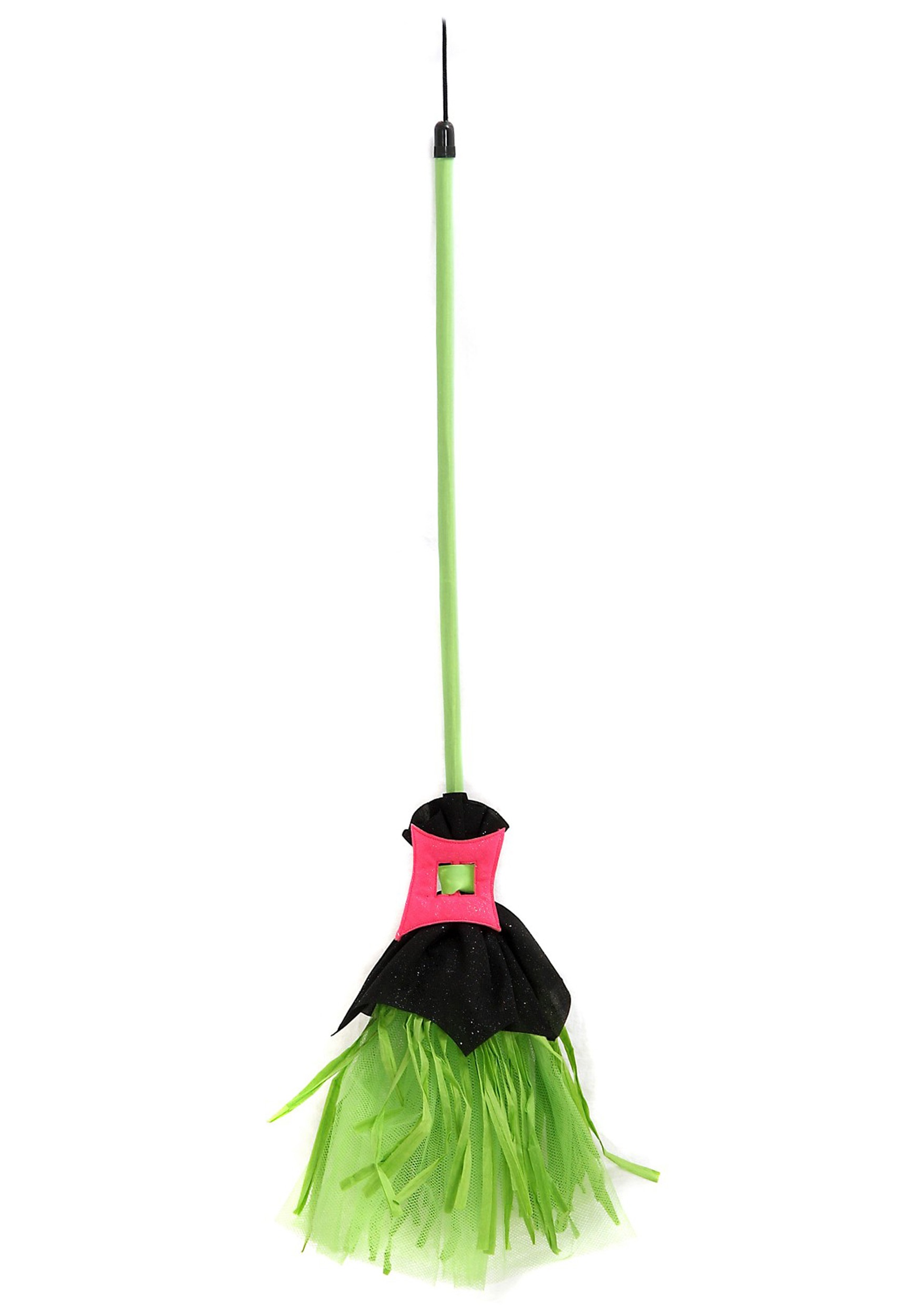 Spiderina Witch Child Broom - Kids Witch Costume Accessories