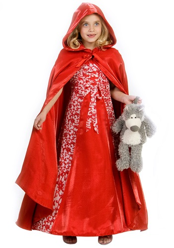 Red Riding Hood Princess Costume