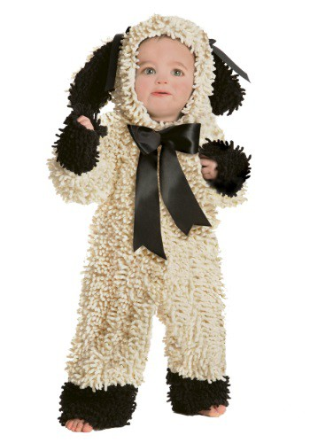 Baby Wooly Lamb Costume