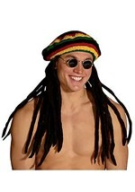 Rasta Cap with Dreads